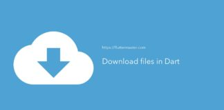 Download files in Dart
