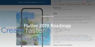 Flutter 2019 Roadmap