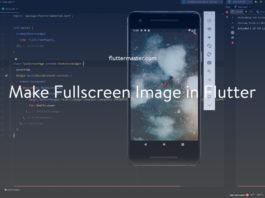 Make fullscreen image in Flutter