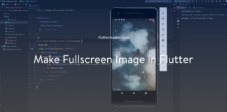 Make fullscreen image in Flutter
