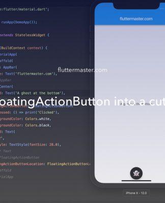 Transform FloatingActionButton into a cute little ghost