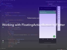 Working with FloatingActionButton in Flutter
