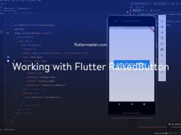 Working with Flutter RaisedButton
